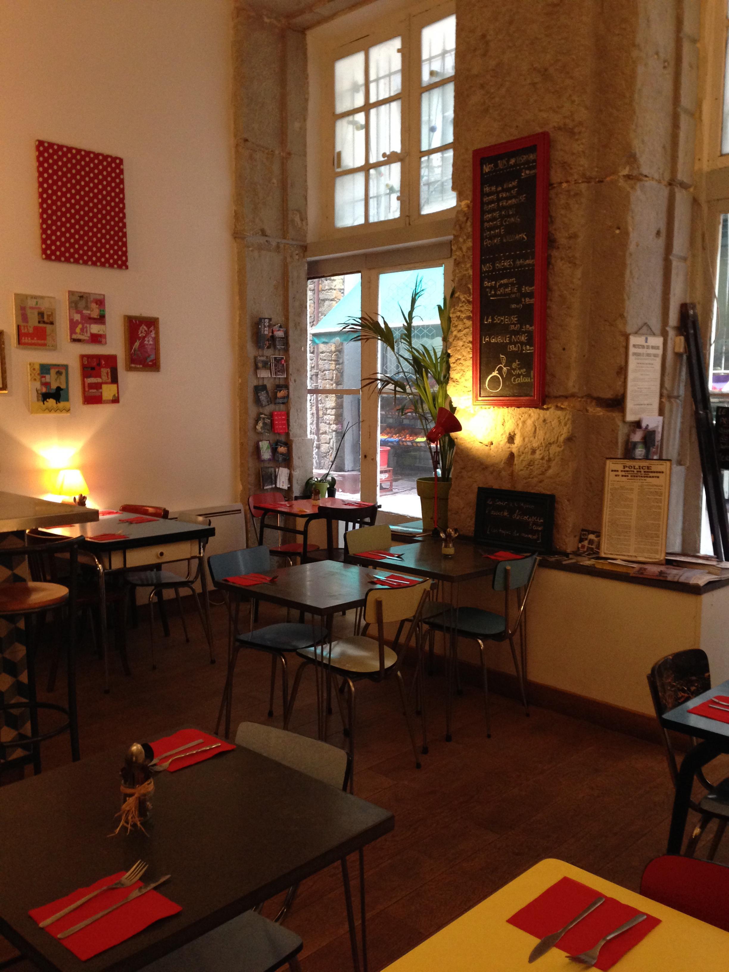 Salle café cousu