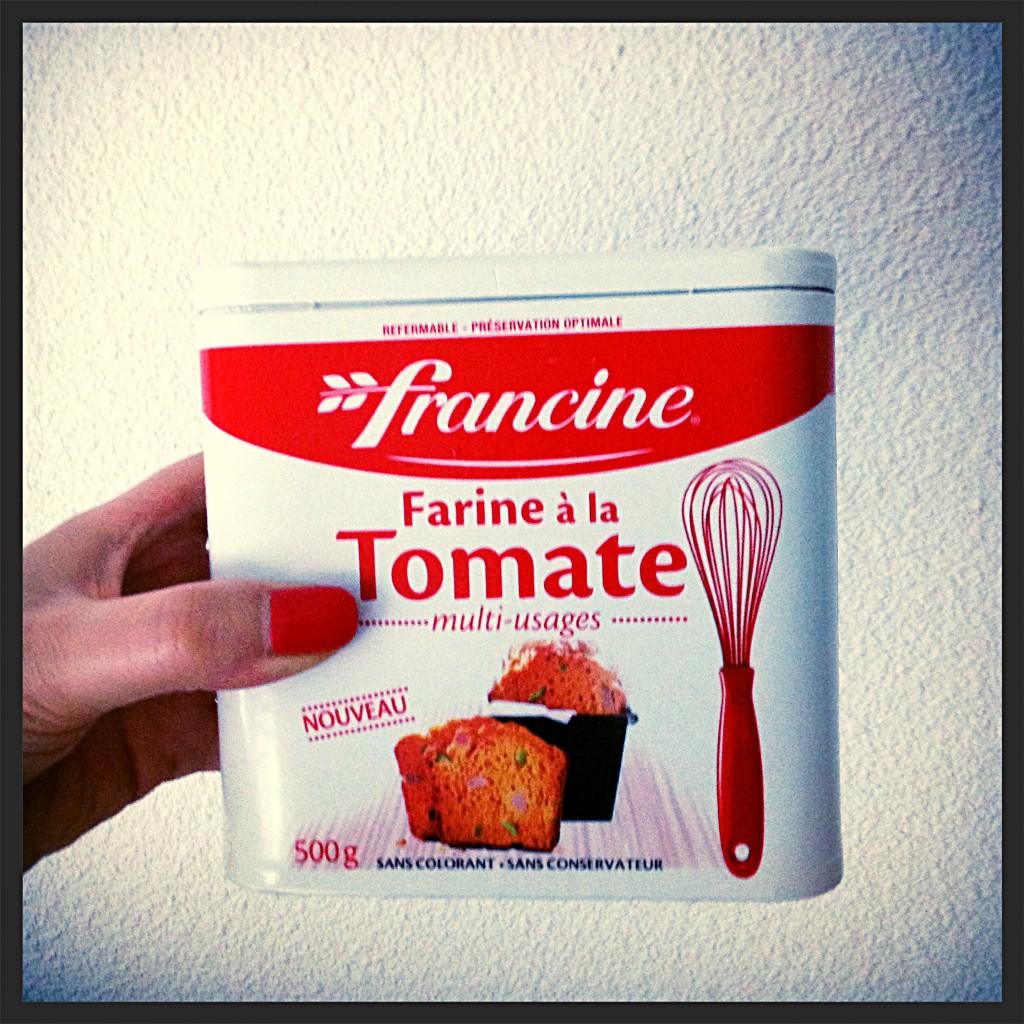 Farine à la tomate