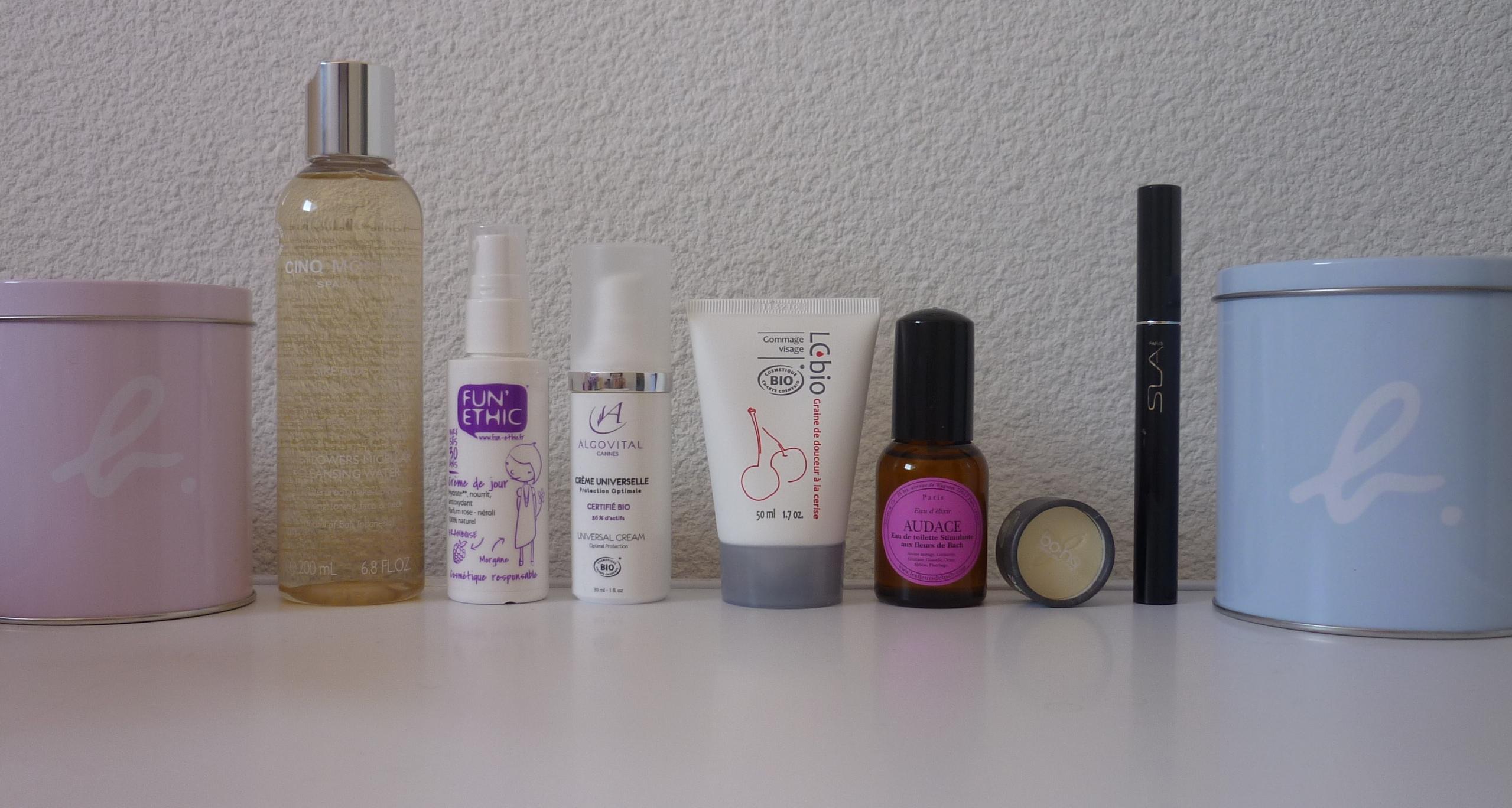 Produits box La Naturelle