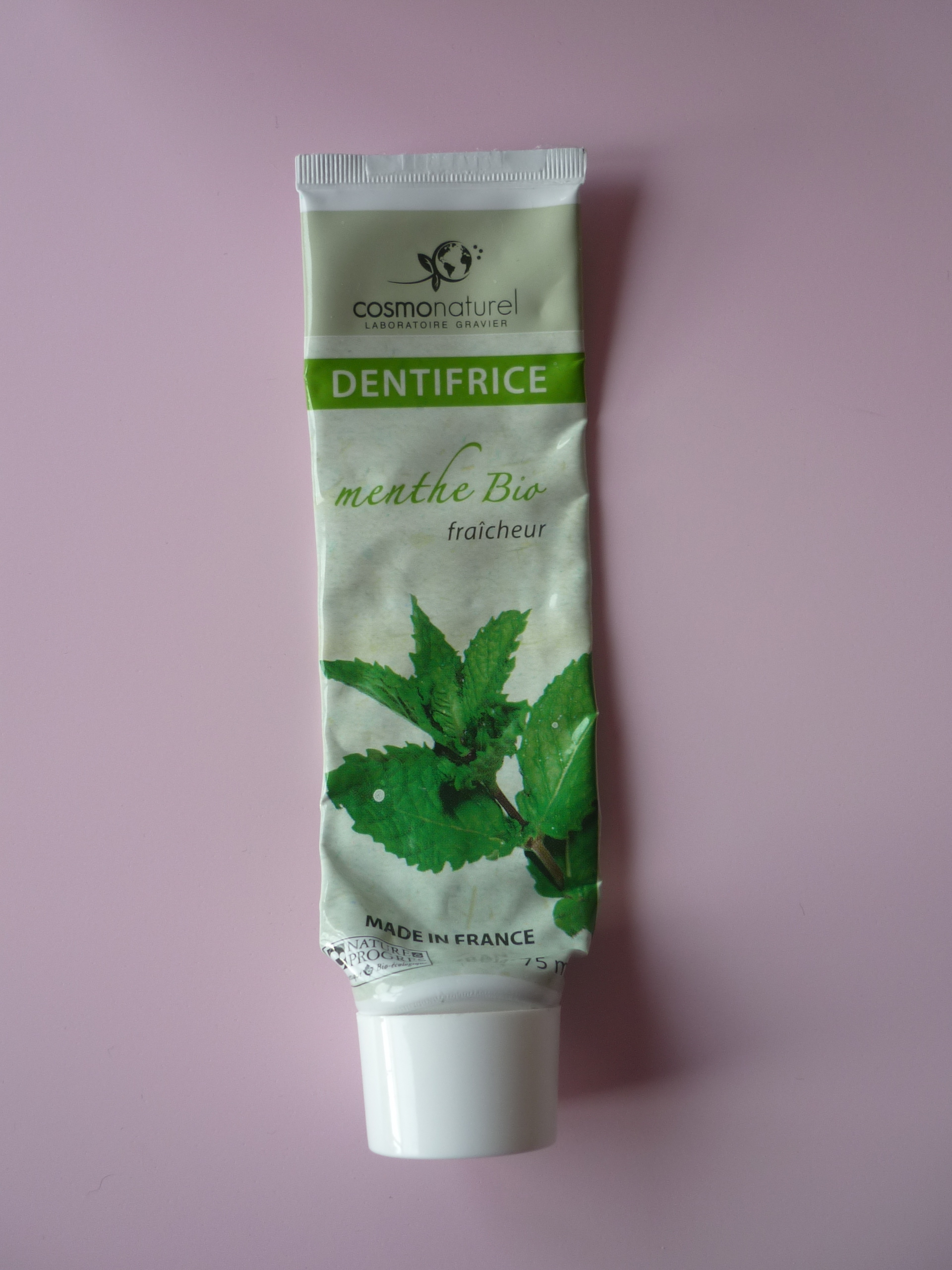 Dentifrice Cosmonaturel