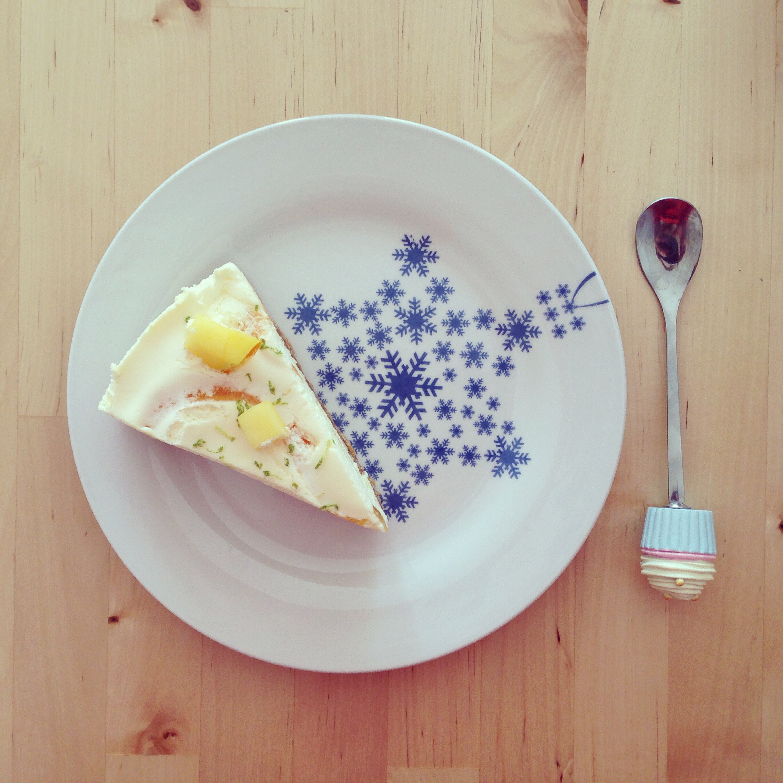 Cheesecake piece of cake