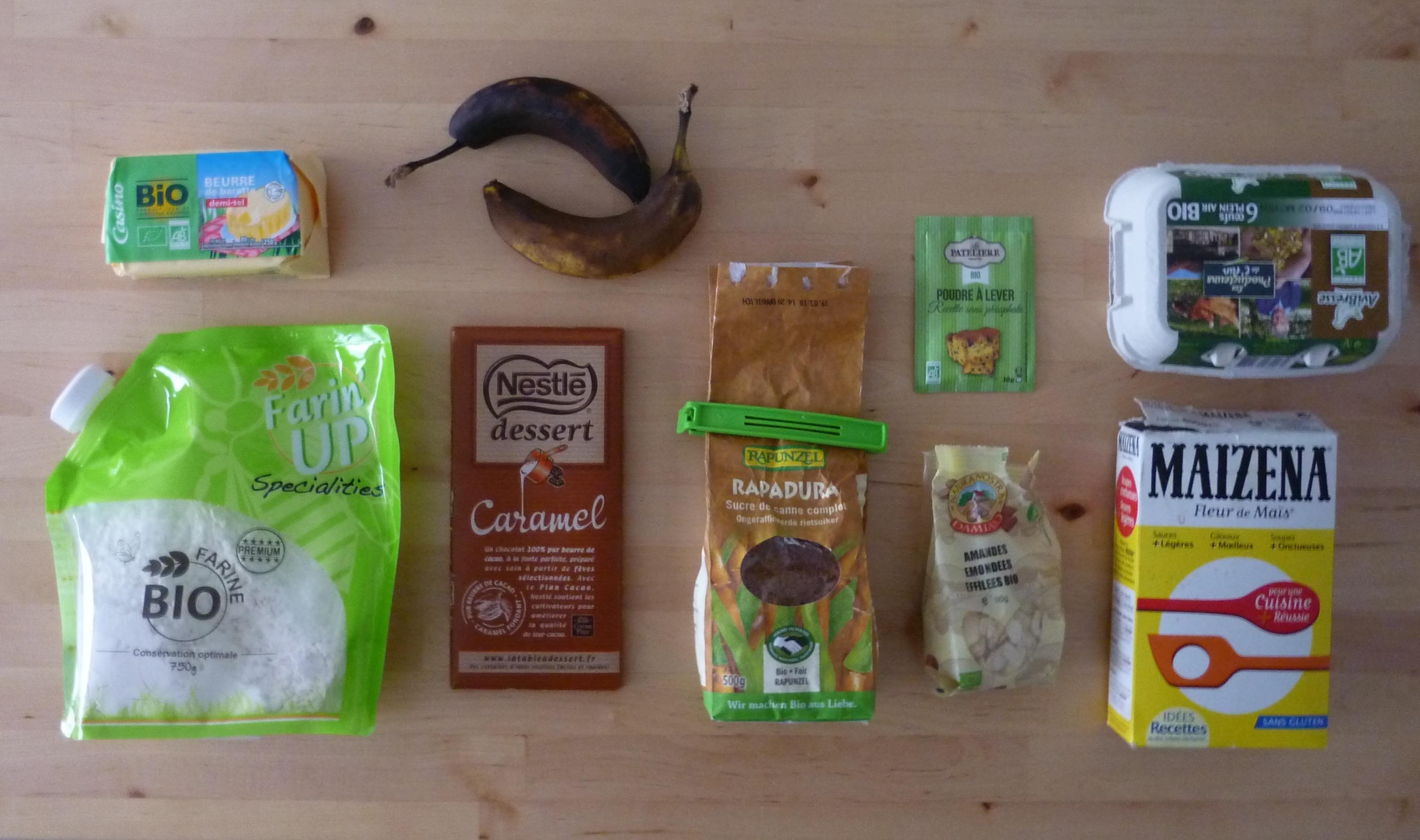 Recette de gâteau chocolat banane ultra moelleux