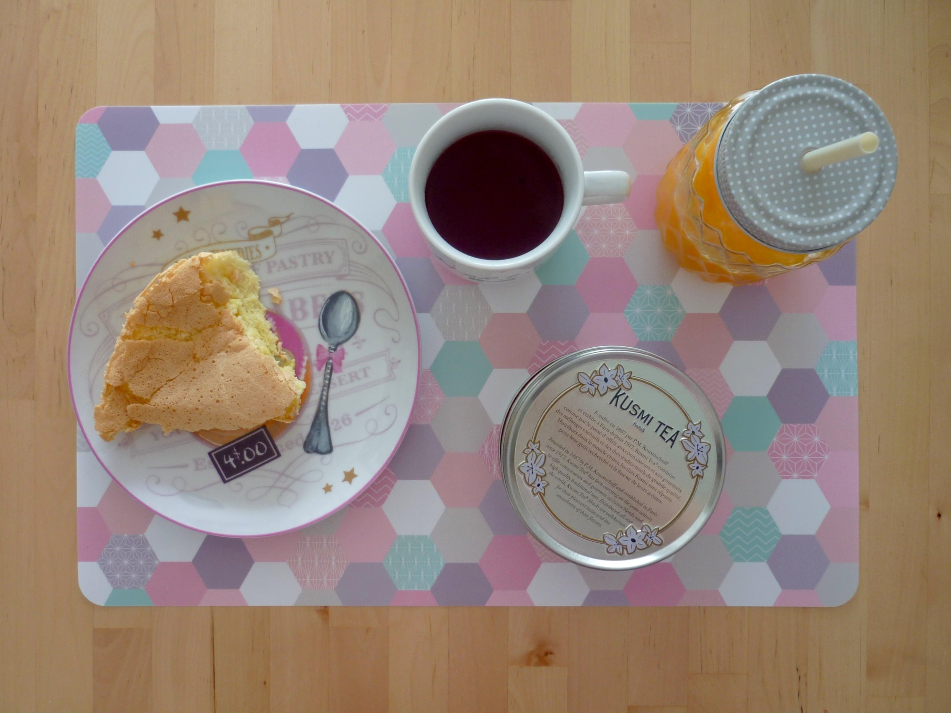 Breakfast gâteau de Savoie