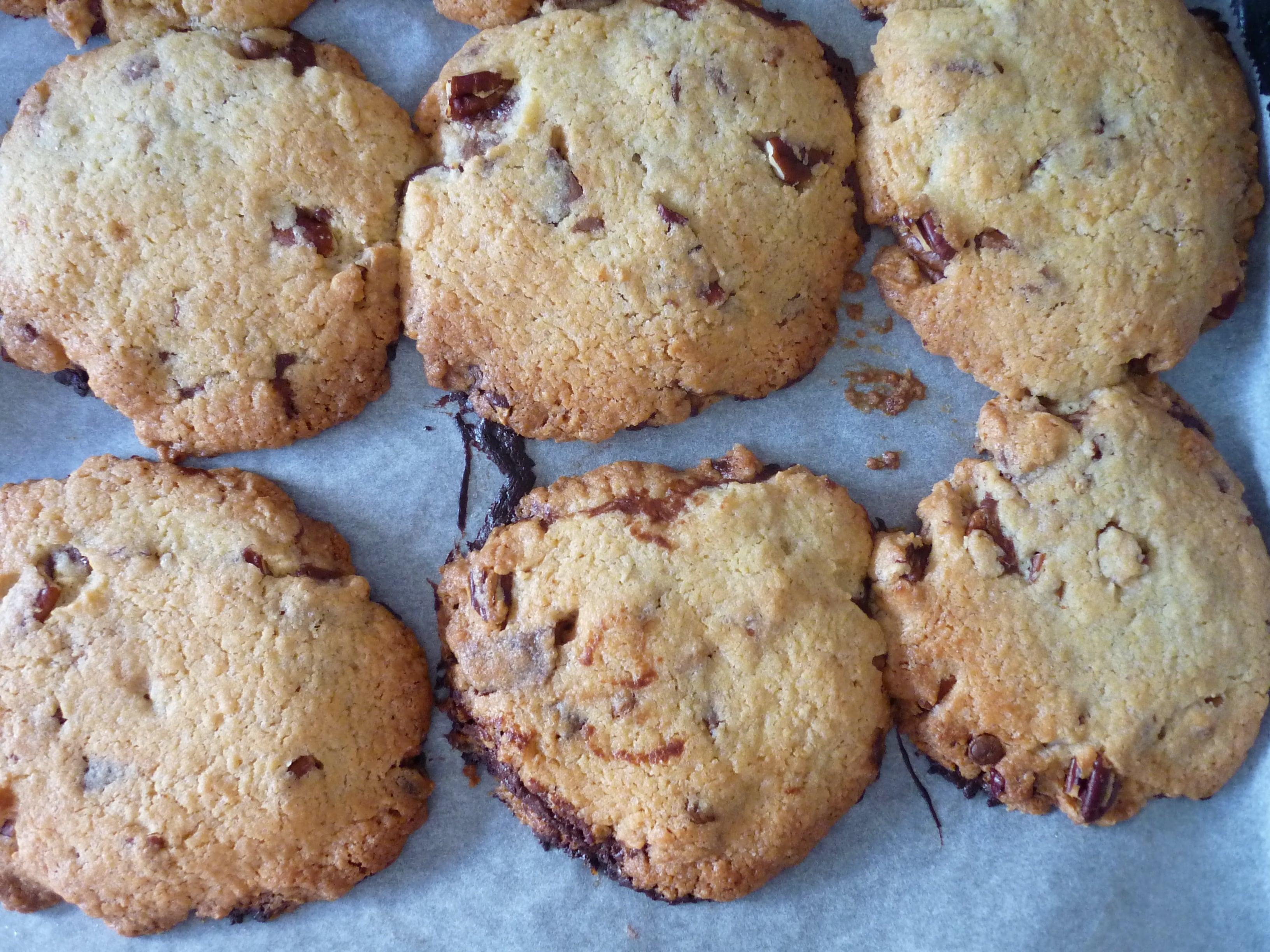 la recette des cookies au coeur fondant de michel et. Black Bedroom Furniture Sets. Home Design Ideas