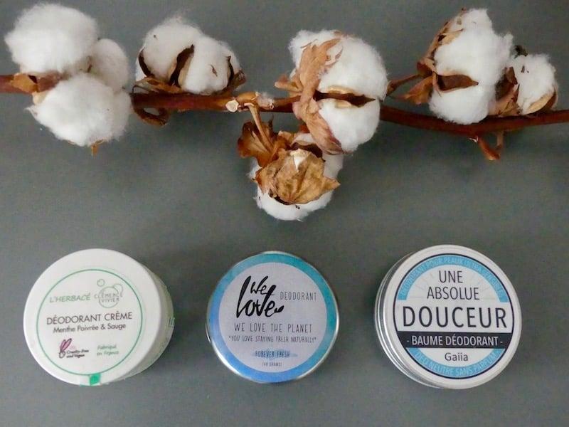 Beauty battle: les déodorants naturels