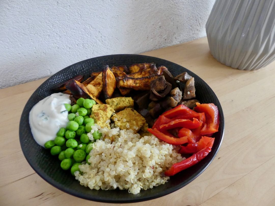 Recette de veggie bowl gourmand et coloré