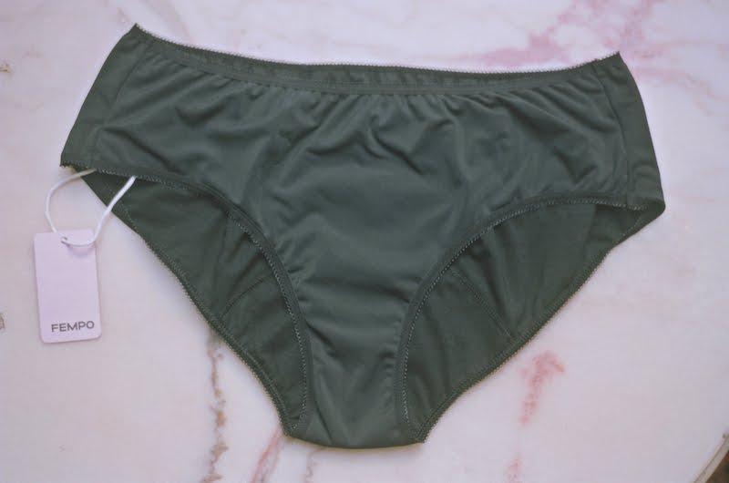 J'ai testé la culotte menstruelle FEMPO