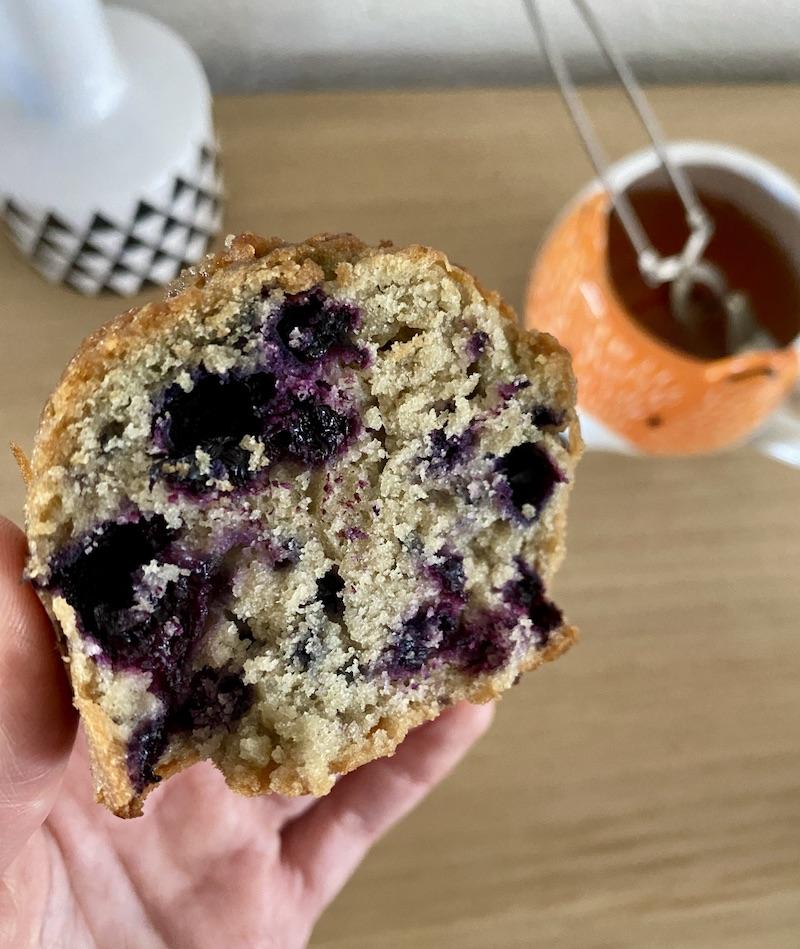 Muffins myrtilles façon Starbucks